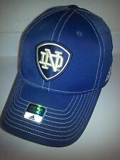 Notre Dame Fighting Irish Flex Fit Cap Navy NWT NCAA FBS Independent adidas