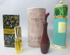 VINTAGE  Sammlung Flakon mit OVP @ Shiseido Avon elegance Schiparelli shocking
