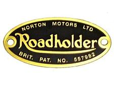Roadholder Fork Badge Norton 06-7908 06-7114 UK MADE Atlas P11 Ranger Mercury