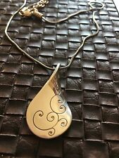 Brighton TWIRL pendant necklace NWT silver lobster claw closure NWT