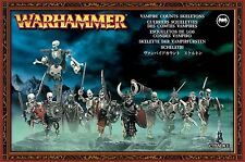 VAMPIRE Counts-SCHELETRI WARHAMMER AGE OF Sigmar Games Workshop