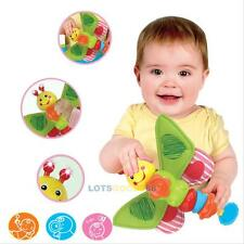Baby Kids Developmental Hanging Music Toy Lovely Plush Rattle Crinkle Fancy Toys
