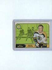 GLEN SATHER SIGNED 1968-69 OPC/O-PEE-CHEE #134 RARE NHL AUTOGRAPH BRUINS AUTO