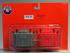 LIONEL TRANSFORMER ACCESSORY 2 PACK o gauge building scenery train 6-83215 NEW