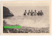 Foto nackte Soldaten beim baden im Meer Krim 2 Wk IIWW halbnackt naked gay !