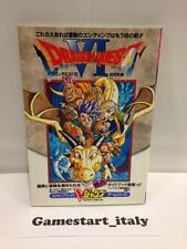 DRAGON QUEST VI 6 JAP VERSION GUIDE BOOK (GUIDA STRATEGICA) STRATEGY GUIDE