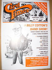 CARD TIMES MAGAZINE FORMERLY CIGARETTE CARD MONTHLY No 129 JANUARY 2001