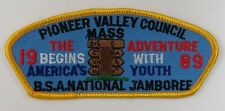 1989 National Jamboree Pioneer Valley JSP YEL Border [G1350]