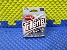 BERKLEY TRILENE MICRO ICE CLEAR STEEL LINE 6lb. 110yd #MIPS6-66