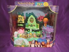 WIZARD OF OZ POLLY POCKET EMERALD CITY w/ FIGURES light-up playset 2001