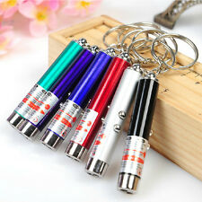 1PSC 2 in 1 LASER / LAZER POINTER PEN +  LED LIGHT TORCH PET CAT DOG TOY RED