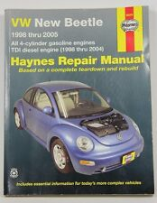Haynes VW New Beetle 1998 thru 2005 Repair Manual Gas and Diesel Engines 96006
