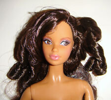 Nude Barbie Doll Long Curly Hair AA Model Muse Barbie Dolls For Ooak mn901i