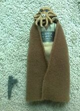 Vintage Star Wars ROTJ figure Squid Head Variant light tan cape 1983