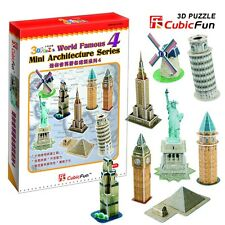 C102h CUBICFUN CUBIC FUN 3D PUZZLE MODEL WORLD FAMOUS MINI ARCHITECTURE SERIES4