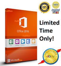 Microsoft Office 2016 Professional & 365 account - For 5 Computers Mac Windows