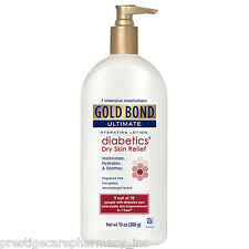 Gold Bond Ultimate Diabetic Dry Skin Relief Lotion - 13 oz