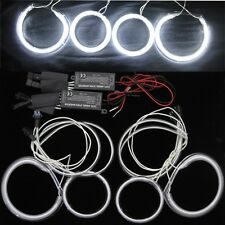 4 X MAZDA 6 2003-2007 CCFL ANGEL EYES HALO RINGS bulbs lamps set kit - white