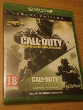 CALL OF DUTY INFINITE WARFARE LEGACY EDITION + TERMINAL MAP (XBOX ONE) NEWSEALED