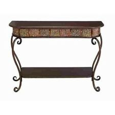 Deco 79 Metal Wood Console Table 32 By 43-Inch New
