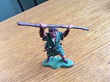 Vintage Little John Robin Hood Character Figure Figurine Plastic England Toy HTF