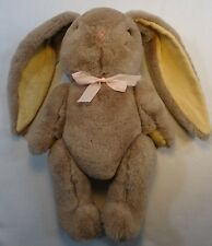 Vintage Easter Bunny Rabbit Jointed Stuffed Long Ears 11 Inch