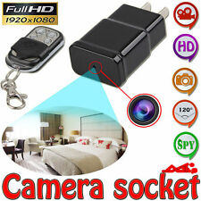Mini HD 1080P 32GB HD DVR Hidden SPY Wall Charger Camera Adapter Plug Nanny Cam