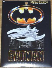 Batwing 1989 Metal Earth 3D Laser Cut Model Kit Fascinations MMS373 Batman