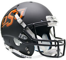 OKLAHOMA STATE COWBOYS BLACK SCHUTT XP FULL SIZE REPLICA FOOTBALL HELMET