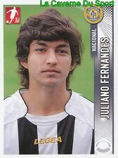 153 JULIANO FERNANDES BRAZIL CD.NACIONAL Najran SC STICKER FUTEBOL 2009 PANINI