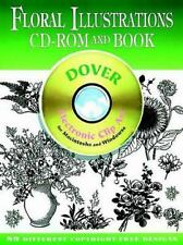 Floral Illustrations CD-ROM and Book (Dover Electronic Clip Art), Clip Art, Dove