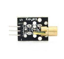 KEYES KY-008 Red Laser Transmitter Sensor Module for Arduino Raspberry Pi CHIP 5