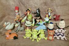McDonalds Shrek Puss in Boots Kitty Soft Paws Figure toy cake topper lot figures