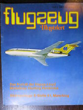 MAGAZINE ALLEMAND AVIATION FLUGZEUG ILLUSTRIERT  N°4 MARCH 1976