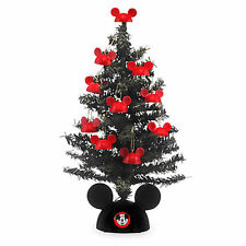 Disney Parks Store - Santa Mickey Mouse Tabletop Tree - 12'' - Christmas - NIB