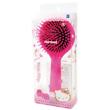 Hello Kitty Small Mirror Stand Detangling Hair Brush Styling Pink HK070