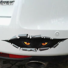 1pc 3D Monster Peeking Funny Car Van Bumper Window Vinyl Sticker Decal