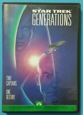 Star Trek: Generations DVD Patrick Stewart William Shatner