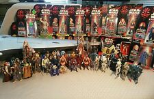 Star Wars Hasbro Episode 1 Huge Lot- Naboo Royal Starship 56 Figures Jedi Droids