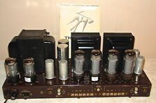 Beautiful Vintage Fisher SA-300-B Stereo Tube Amplifier Telefunken Mullard EL34