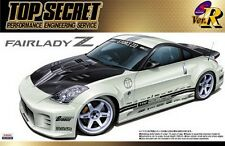 Aoshima 1/24 Scale Model Car Kit Top Secret Nissan Fairlady Z Z33 350Z