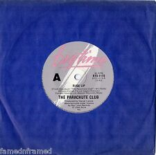"THE PARACHUTE CLUB - RISE UP - 7"" 45 VINYL RECORD - 1983"