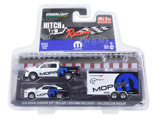 2014 DODGE RAM 1500 & 2006 CHARGER HELLCAT MOPAR 1/64 GREENLIGHT 51061 D