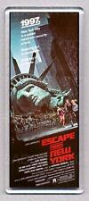 ESCAPE FROM NEW YORK movie poster LARGE FRIDGE MAGNET