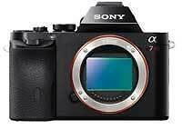 Sony a7R Full-Frame 36.3 MP Interchangeable Digital Lens Camera Without  Lens