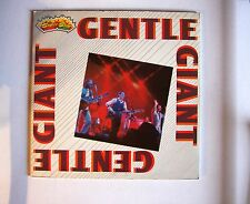 Gentle Giant Gentle Giant Italy LP 1982 Booklet Cover