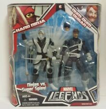 MARVEL LEGENDS DUM DUM DUGAN WHITE HAND NINJA NICK FURY SHIELD AGENT NIB MINT
