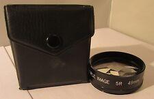49mm Multi Image X5 Filtro Con Estuche De Vidrio De Excelente Calidad. 5 X