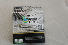 Braided Fishing Line, POWER PRO SPECTRA BRAID, Aqua Green, 15 lb Test 150 Yds...