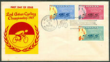 1965 Philippines 2ND ASIAN CYCLING CHAMPIONSHIP First Day Cover